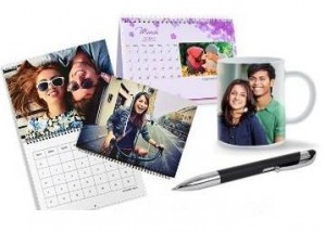 Get Flat 50% off on Customized Photo Mug, Pen, Calendar, wallets and More