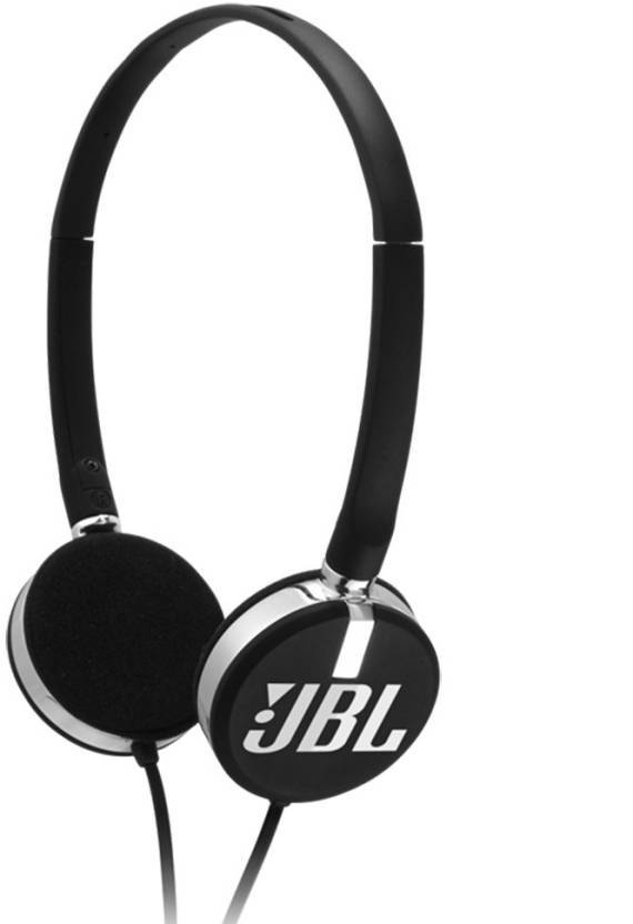 JBL T26C Wired Headphones  (Black, On the Ear)